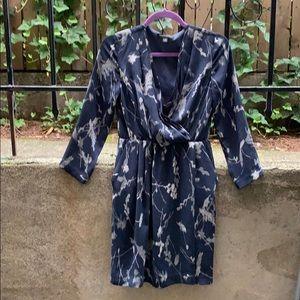 Blue banana republic dress with pockets